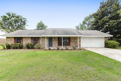 Ocean Springs Single Family Home For Sale: 6409 J F Douglas Dr