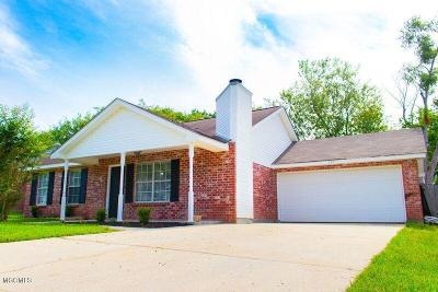 Gulfport Single Family Home For Sale: 925 Mary Ruth Dr