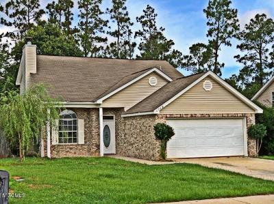 Gulfport Single Family Home For Sale: 14249 Tori Dawn Dr