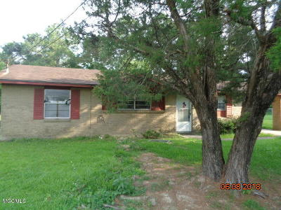 Biloxi Single Family Home For Sale: 11425 Quint Pl