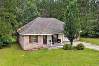 Saucier MS Single Family Home For Sale: $155,000