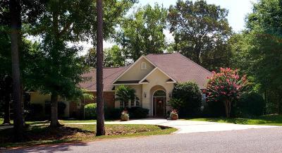 Diamondhead Single Family Home For Sale: 6527 Mauna Loa Dr