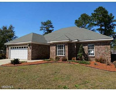 Ocean Springs Single Family Home For Sale: 4009 Belle Terre Ct