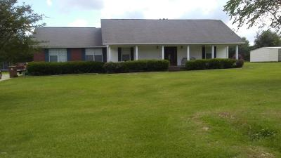 Saucier Single Family Home For Sale: 18801 W Wortham Rd