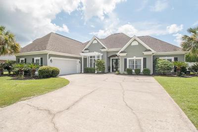 Gulfport Single Family Home For Sale: 9166 Ashburn Ln