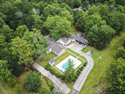 Ocean Springs Single Family Home For Sale: 16101 Allie Byrd Rd