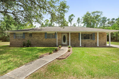 Bay St. Louis Single Family Home For Sale: 450 Easterbrook St