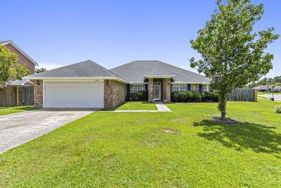 Gulfport Single Family Home For Sale: 13541 Windrose Cir