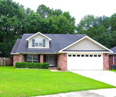 Biloxi Single Family Home For Sale: 15061 Cedar Springs Dr