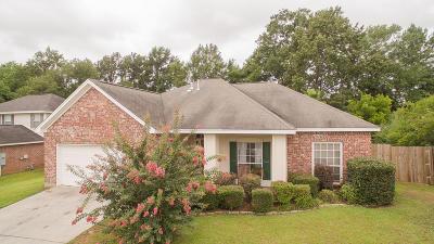 Biloxi Single Family Home For Sale: 895 Ellington Dr