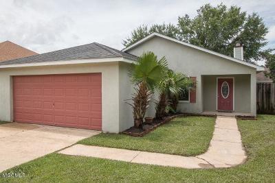 Biloxi Single Family Home For Sale: 1925 Tyler St