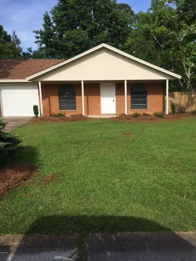 Gulfport Single Family Home For Sale: 48 Pembrook Cir