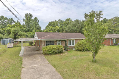 Gulfport Single Family Home For Sale: 201 Ridgeway Dr