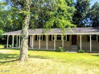 Gulfport Single Family Home For Sale: 1718 Magnolia St