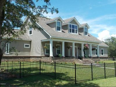 Waveland Single Family Home For Sale: 221 Hoffman Ln