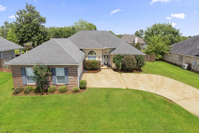 Gulfport Single Family Home For Sale: 15380 Meadow Brook Ct
