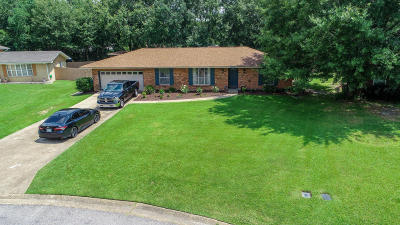 Gulfport Single Family Home For Sale: 15789 S Parkwood Dr