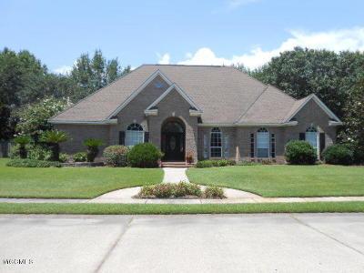 Ocean Springs Single Family Home For Sale: 2531 Faulkner Ct