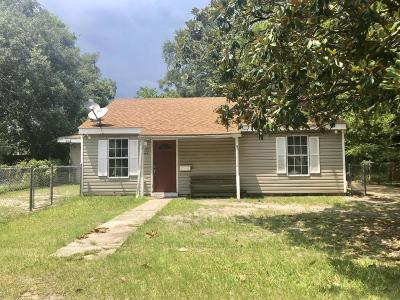 Biloxi MS Single Family Home For Sale: $75,000