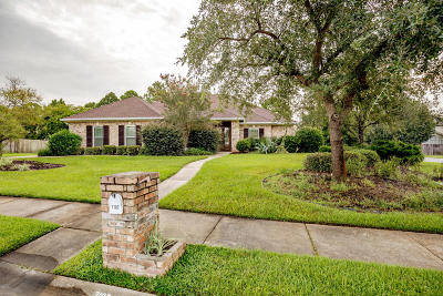 Ocean Springs Single Family Home For Sale: 3107 Shadow Wood Dr
