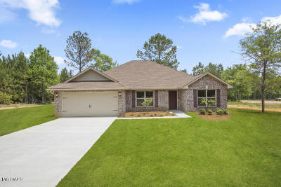 Gulfport Single Family Home For Sale: 19484 Morris Pond Rd