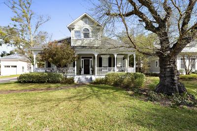 Ocean Springs Single Family Home For Sale: 2 Mulberry Pl