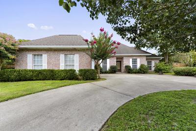 Ocean Springs Single Family Home For Sale: 1217 Magnolia Bayou Blvd