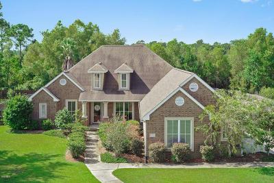 Ocean Springs Single Family Home For Sale: 6300 Olde Magnolia Dr