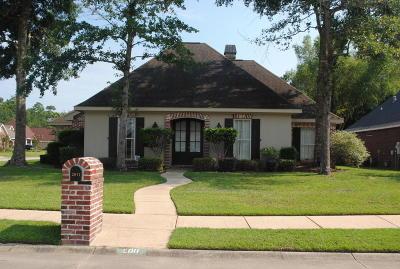 Biloxi Single Family Home For Sale: 2011 Lantana Cv