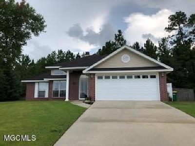 Ocean Springs Single Family Home For Sale: 7530 W Falcon Cir