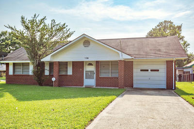 Ocean Springs Single Family Home For Sale: 114 Roberts Cir