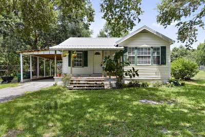 Ocean Springs Single Family Home For Sale: 7500 Fountainbleau Rd