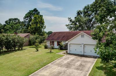 Ocean Springs Single Family Home For Sale: 6405 J F Douglas Dr