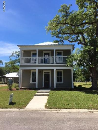 Bay St. Louis Single Family Home For Sale: 509 Thomas Shields Blvd