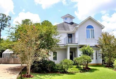 Diamondhead Single Family Home For Sale: 7523 Turnberry Drive