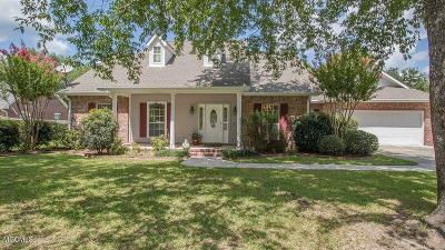 Gulfport Single Family Home For Sale: 14060 N White Swan Dr