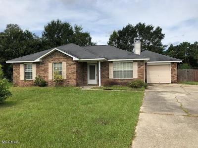 Ocean Springs Single Family Home For Sale: 6509 Old Fort Bayou Rd
