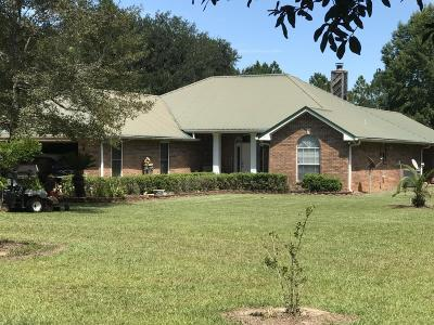Gulfport Single Family Home For Sale: 14106 Cable Bridge Rd