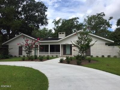 Gulfport Single Family Home For Sale: 4495 Courthouse Rd