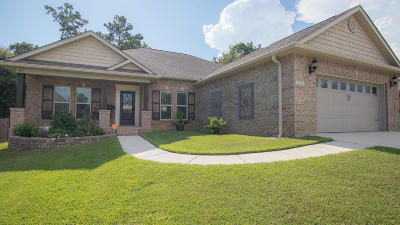 Biloxi Single Family Home For Sale: 9539 Woodrow Pl
