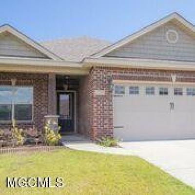 Biloxi Single Family Home For Sale: 17235 Palm Ridge Dr