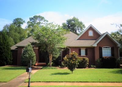 Ocean Springs Single Family Home For Sale: 2103 Whitney Oaks Dr