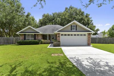 Biloxi Single Family Home For Sale: 15280 Clear Springs Blvd