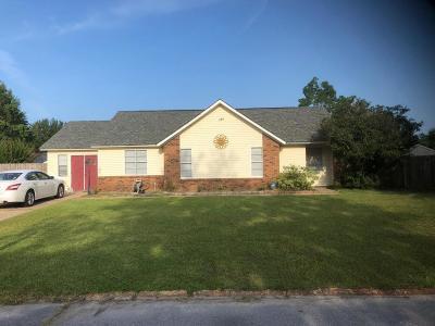 Ocean Springs Single Family Home For Sale: 7125 Dewberry St