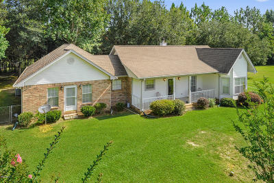 Saucier Single Family Home For Sale: 12458 E Wortham Rd