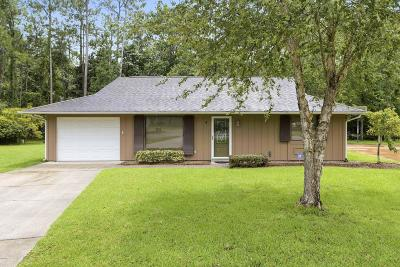 Diamondhead Single Family Home For Sale: 4 Live Oak Ct