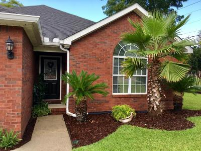 Gulfport Single Family Home For Sale: 11625 Creekside Cv