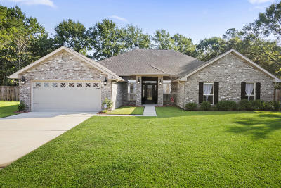 Gulfport Single Family Home For Sale: 14764 Canal Crossing Blvd