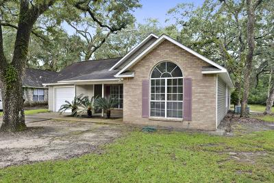 Ocean Springs Single Family Home For Sale: 1601 Doe St