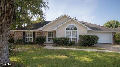 Ocean Springs Single Family Home For Sale: 6913 Post Oak Dr